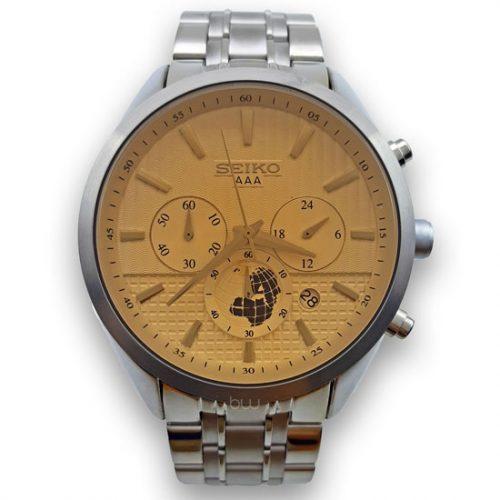 ساعت مچی مردانه سیکو فلزی / SEIKO