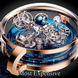گران ترین ساعت مچی مردانه کدامند؟